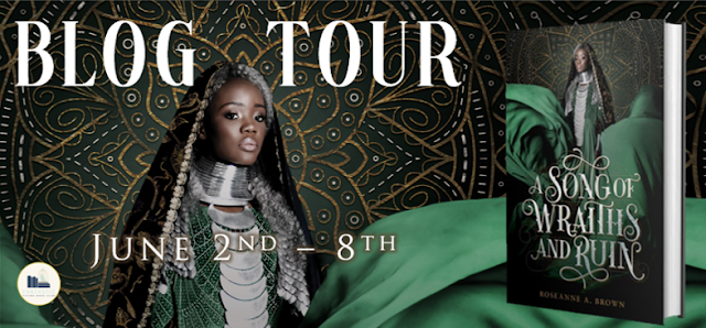 Blog Tour: A Song of Wraiths and Ruin by Roseanna A. Brown | Review + Favorite Quotes + Giveaway